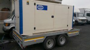 FG Wilson P150 áramfejlesztő